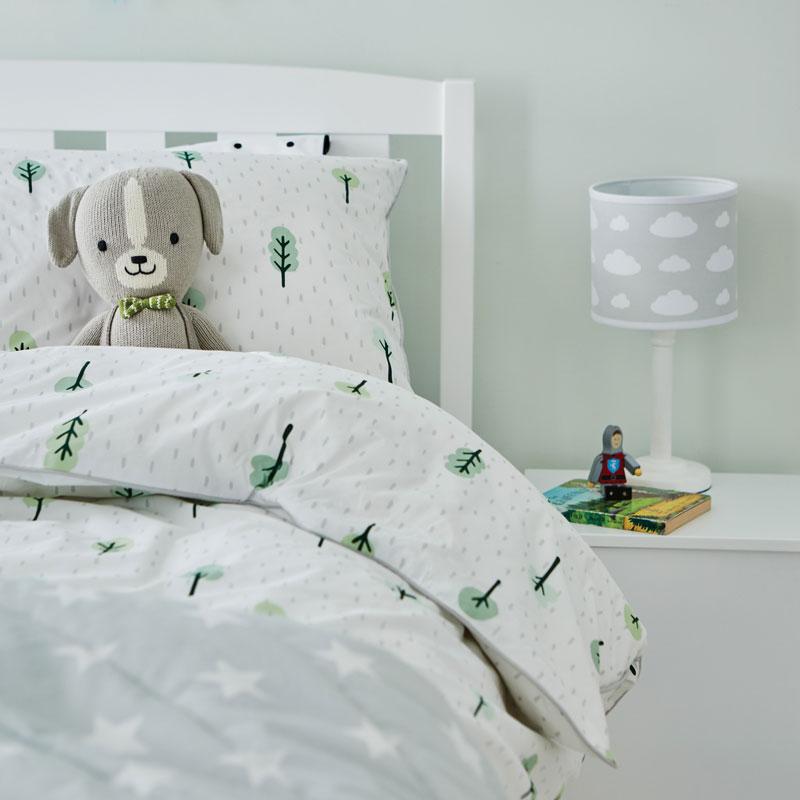 forest scandinavian style kids bedding
