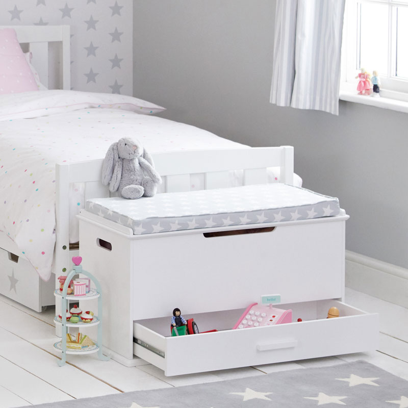 end of bed toy storage