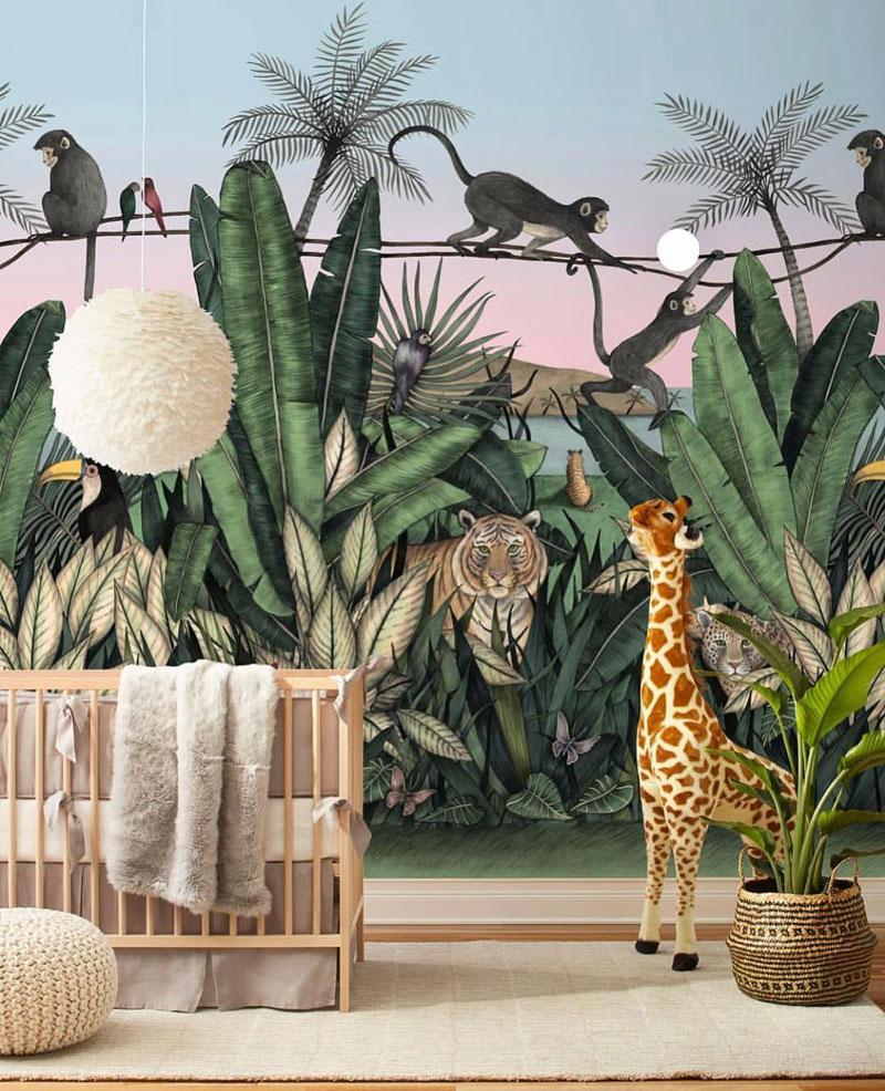 jungle kids wallpaper