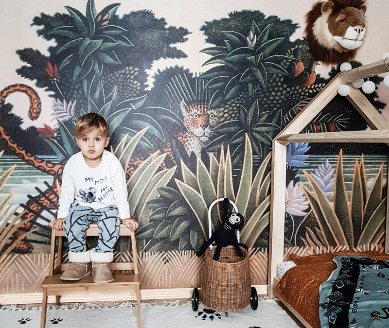 ROOMTOUR : MARK'S PLAYFUL TODDLER ROOM WITH JUNGLE VIBES