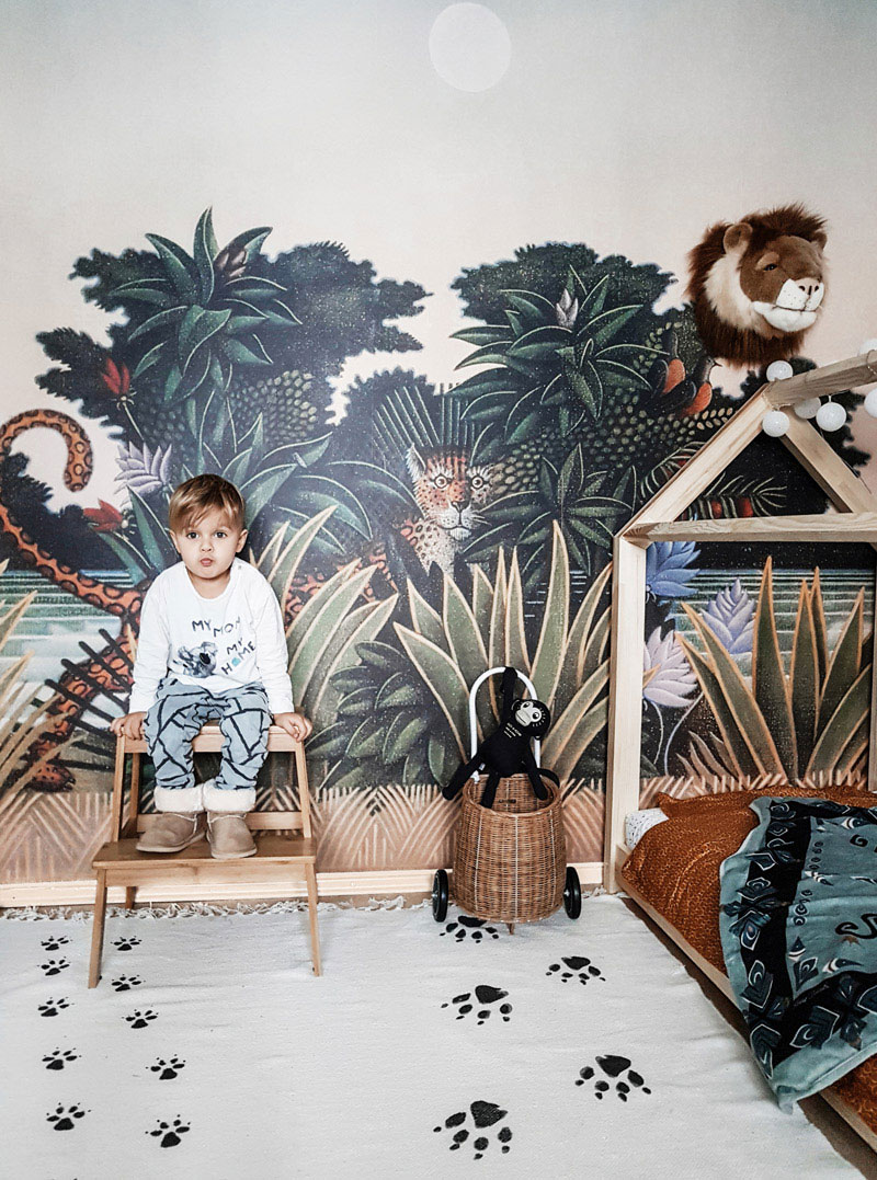jungle toddler kids room