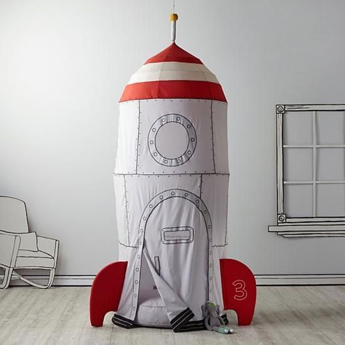 rocket spaceship playtent