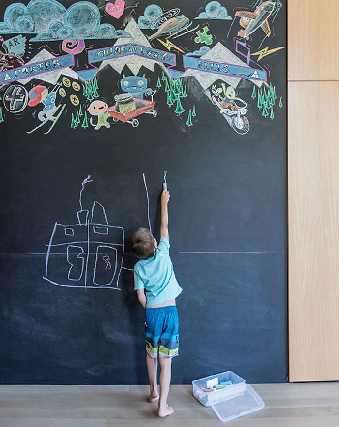 chalkboard ideas for childrens rooms