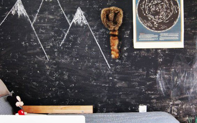 KIDS' ROOMS WITH CHALKBOARD WALLS