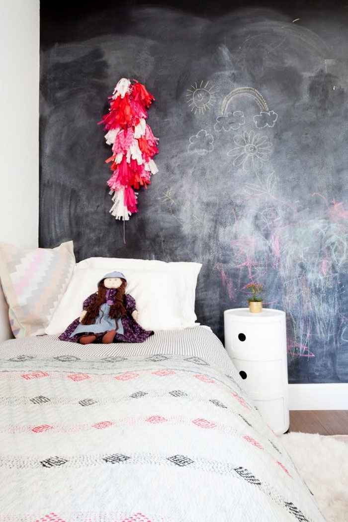 is a chalkboard wall a good idea