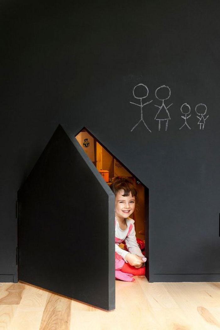 chalkboard playhouse