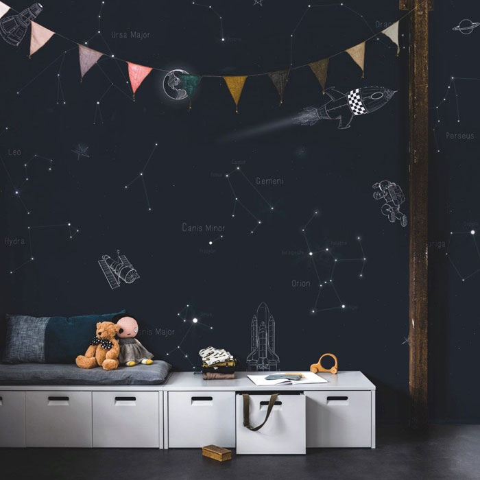 constellation kids wallpaper
