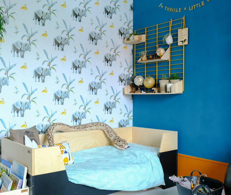 ELI'S COLOURFUL JUNGLE THEMED ROOM