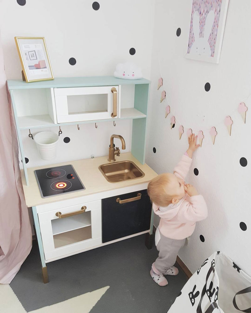 pastel playkitchen
