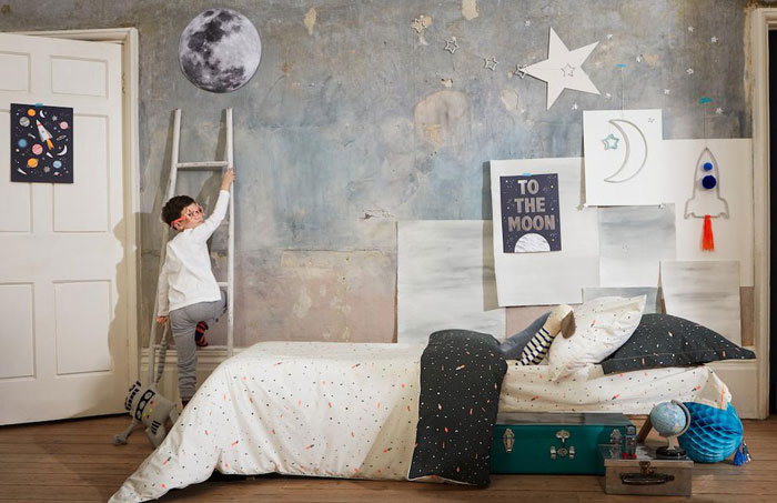 moon kids decor