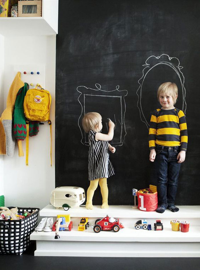cool wall art ideas for kids rooms