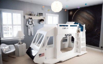 FLY ME TO THE MOON – AUSTRONAUT KIDS' ROOMS