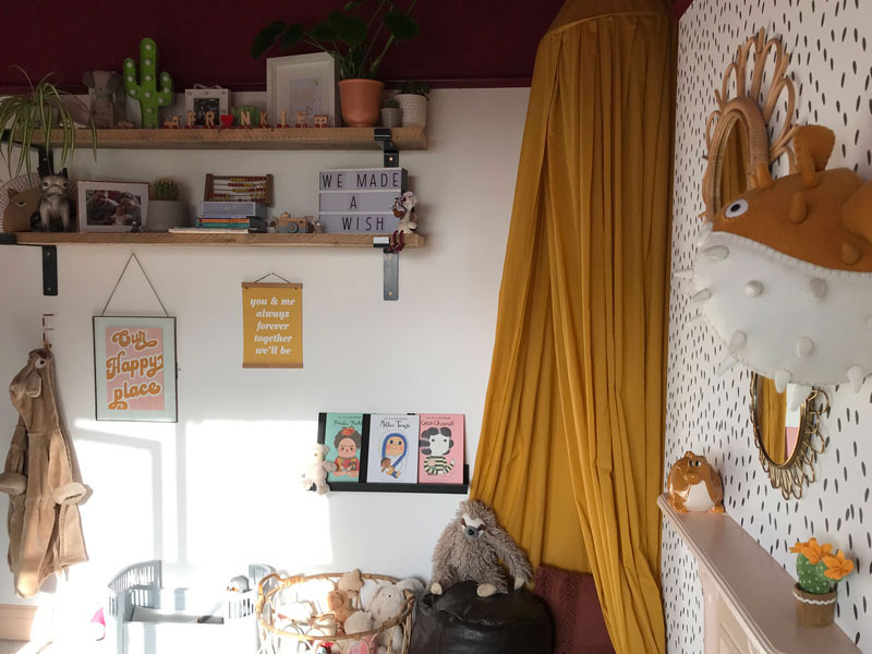 cotton canopy for kids room