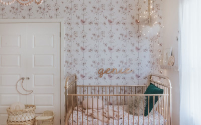 ROOMTOUR : GENIE'S NURSERY IN A VINTAGE DELUXE STYLE