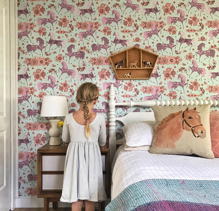 KIDS' ROOMS FEATURING HORSES AND UNICORNS