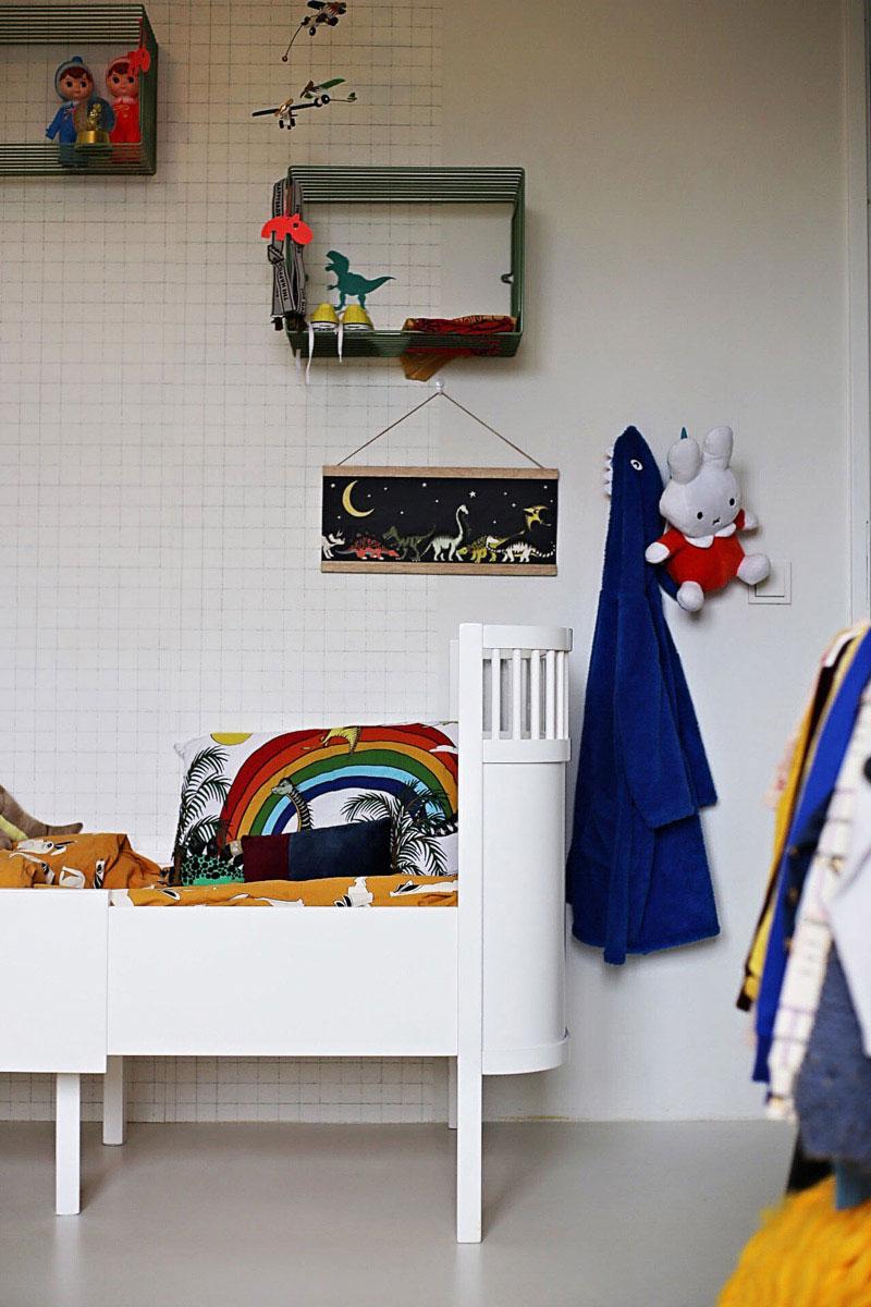 rainbow kid's room