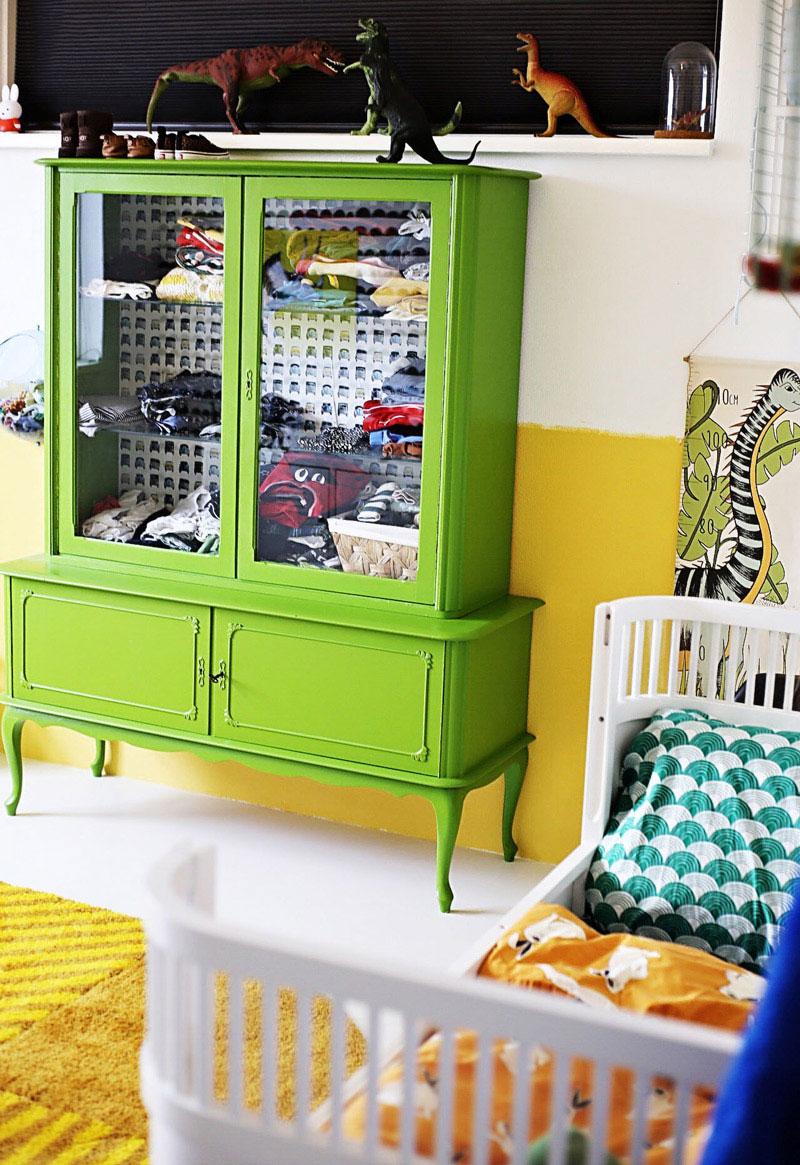 green wardrobe kids