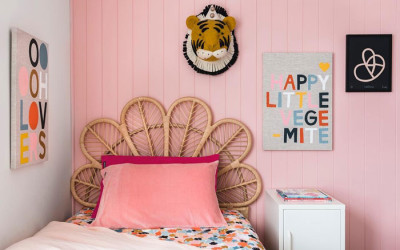 DIFFERENT PINKS FOR GIRLS' ROOMS