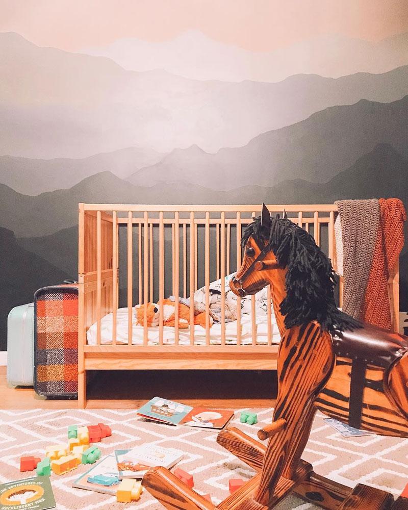 equestrian themed nursery