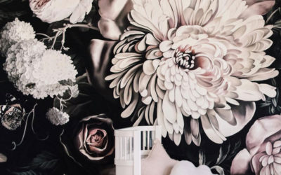 CHIC FLORALS IN GIRLS' ROOMS