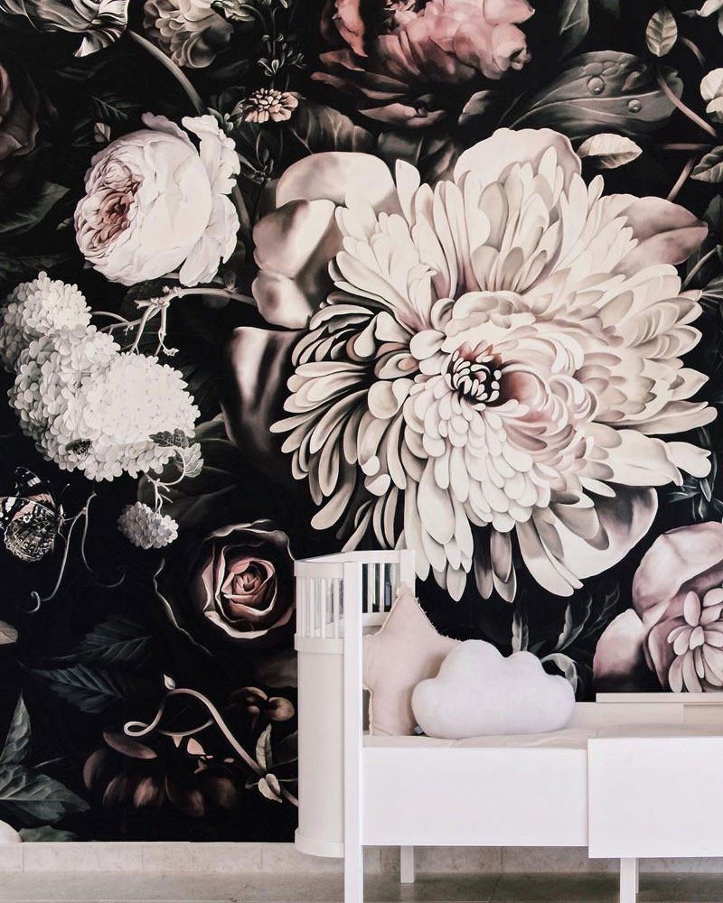 Chic Florals In Girls Rooms By Kids Interiors