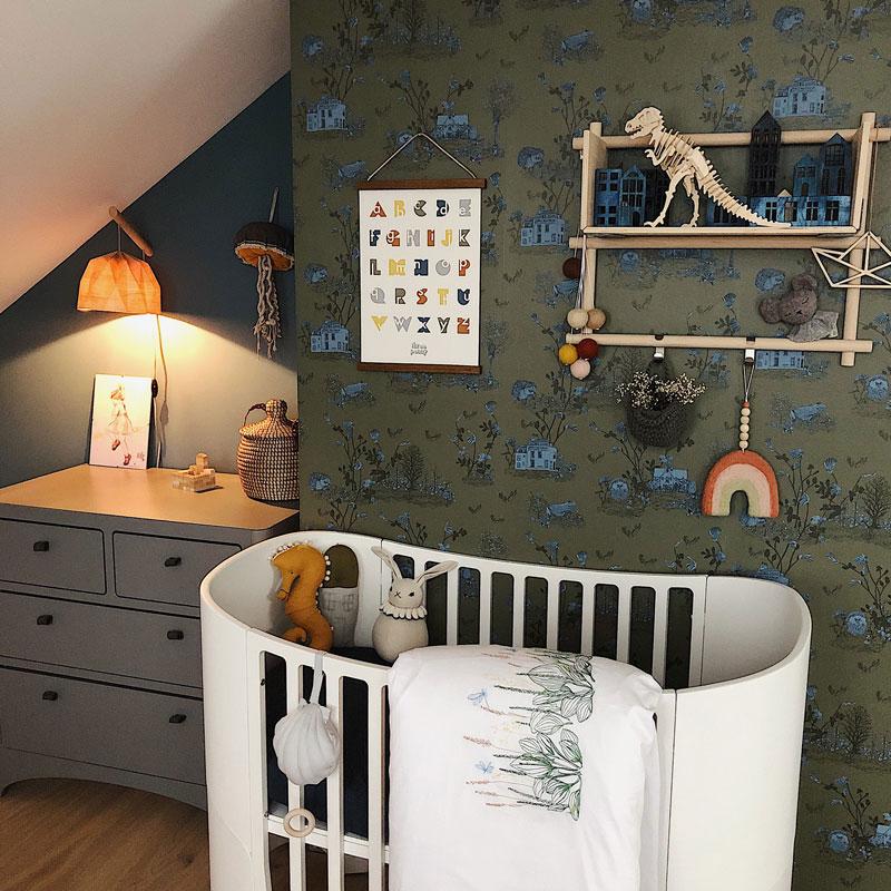 nursery dark wallpaper