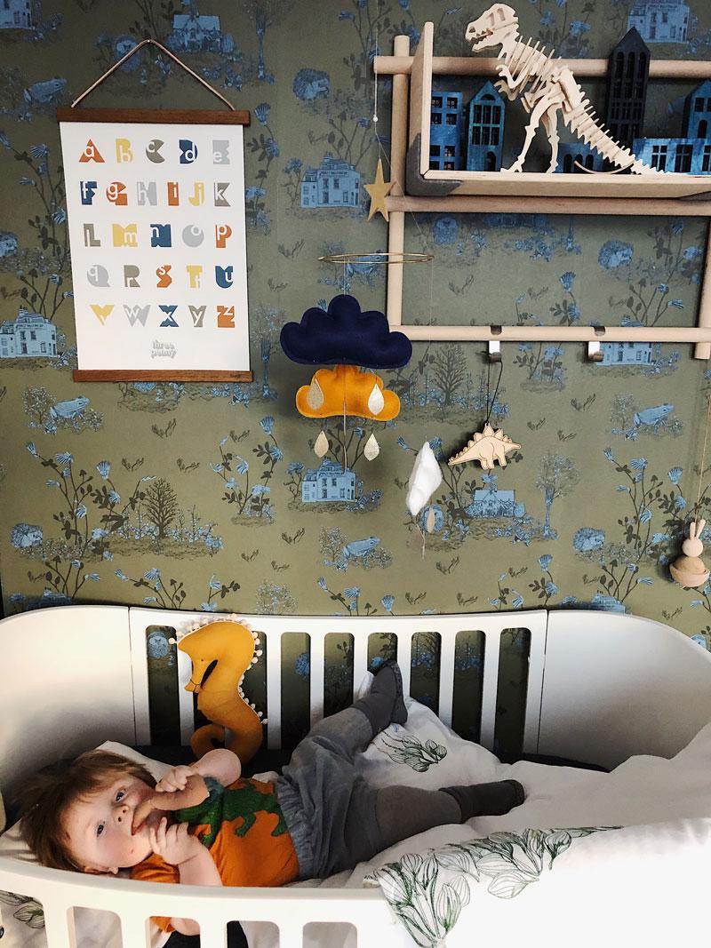 whimsical nursery wallpaper