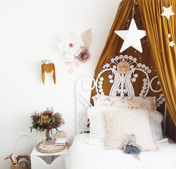 THE POPULAR COLOUR MUSTARD IN KIDS' ROOMS