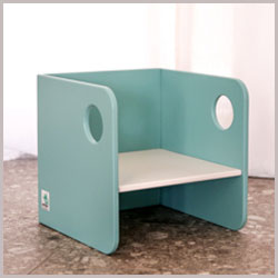 blue kids chair
