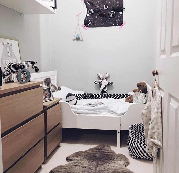 HOW TO MAKE THE MOST OF SMALL KIDS' ROOMS