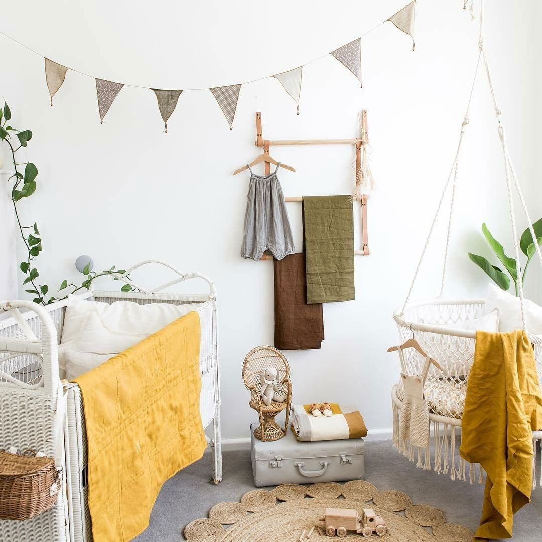 yellow in baby nursery