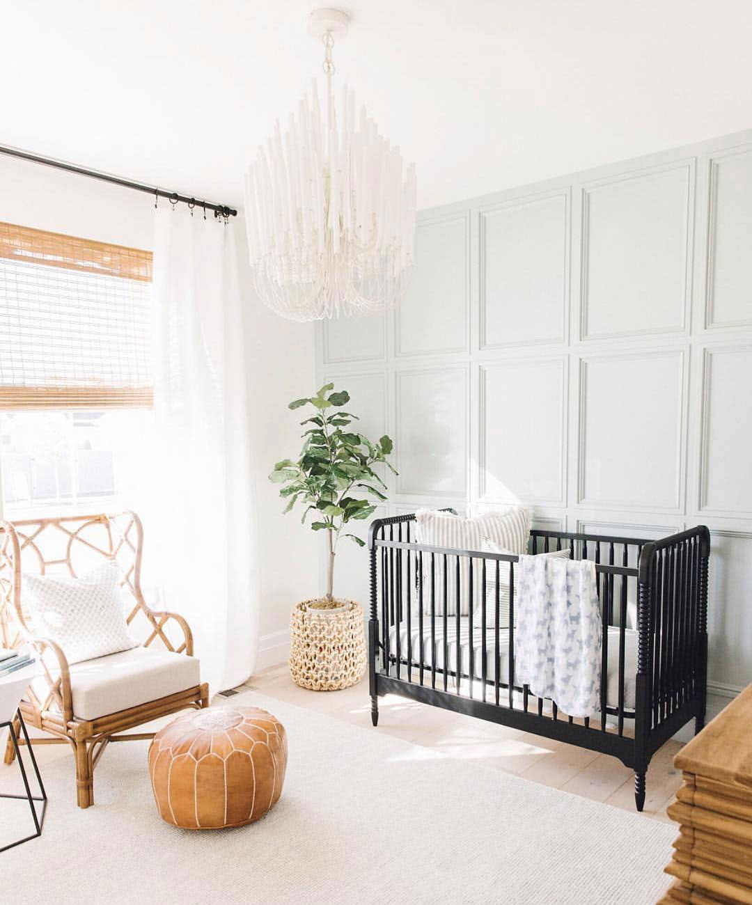 natural light in baby nursery