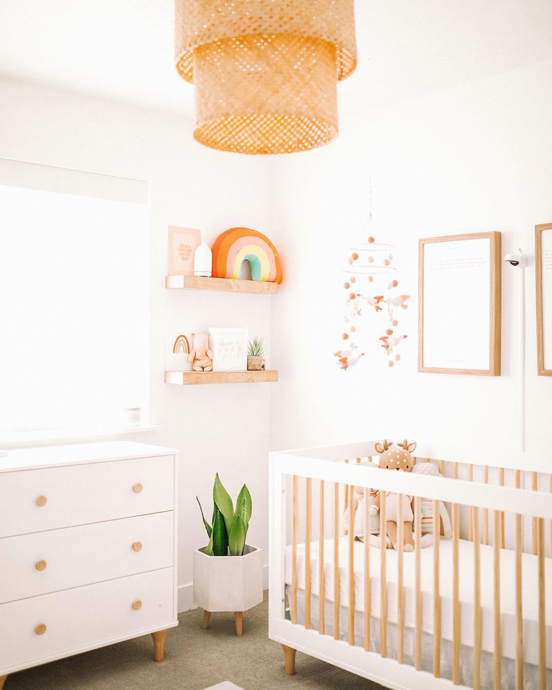 +12 Neutral Modern Nursery Ideas for your Baby Room - Partymazing