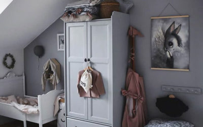 BEAUTIFUL GIRLS' ROOMS WITH GREY