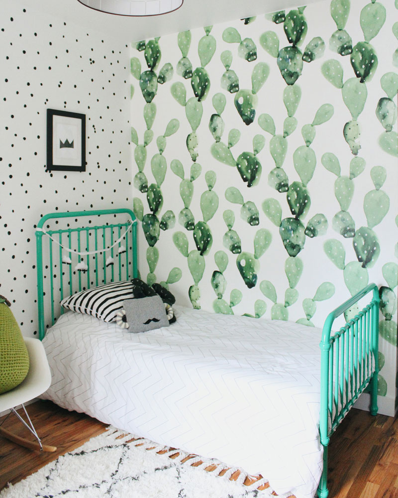 mint blue kids bed