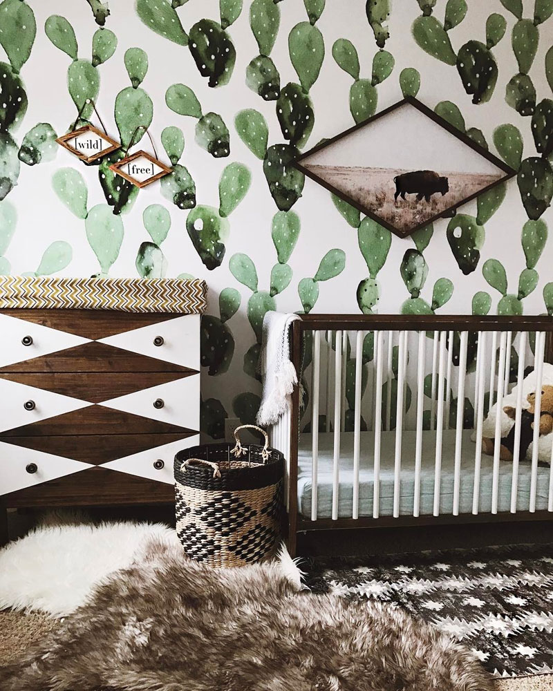 dark wood baby furniture