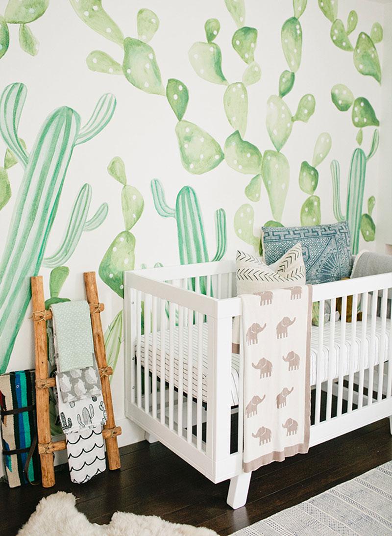 large cacti wallpaper
