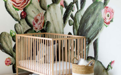 CACTUS DECOR IN NURSERY AND KIDS' ROOMS