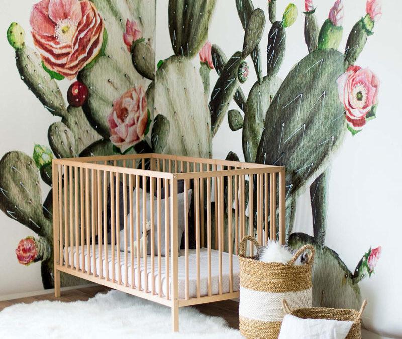 CACTUSES IN NURSERY AND KIDS' ROOMS