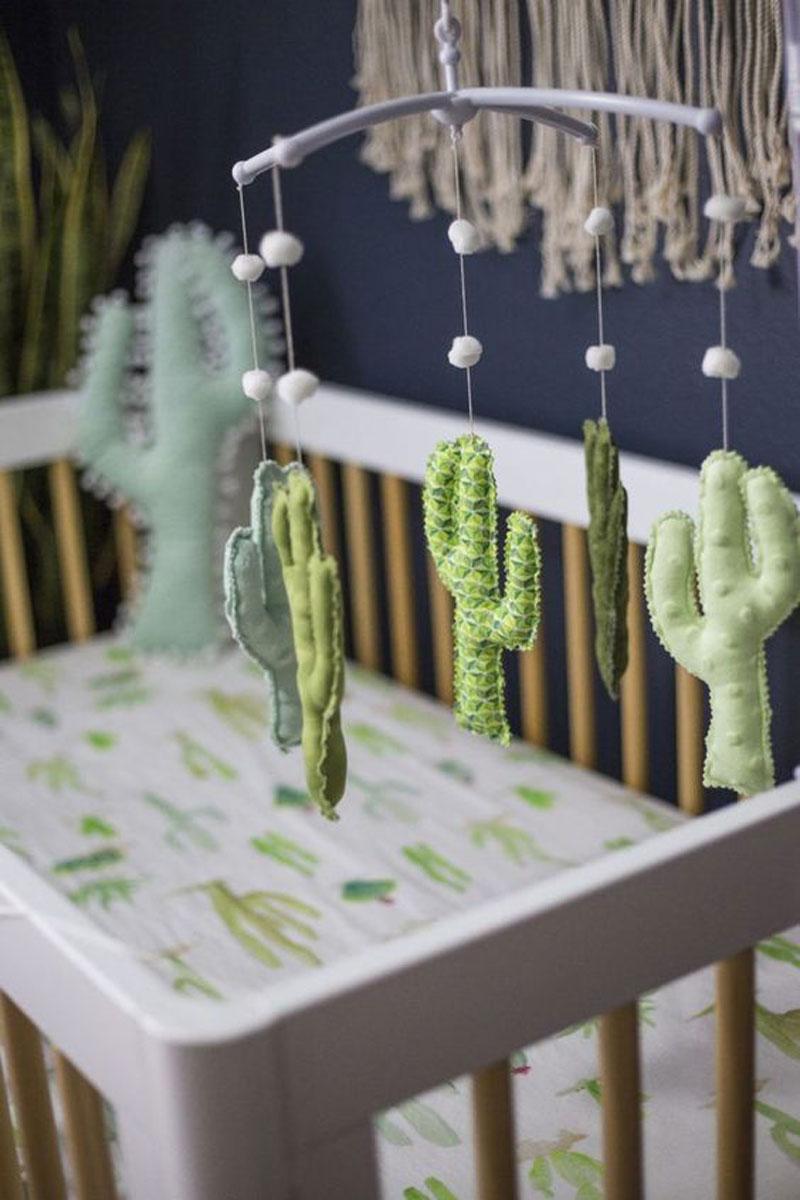 cactus baby sheet