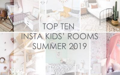 TOP 10 INSTA KIDS' ROOMS SUMMER 2019