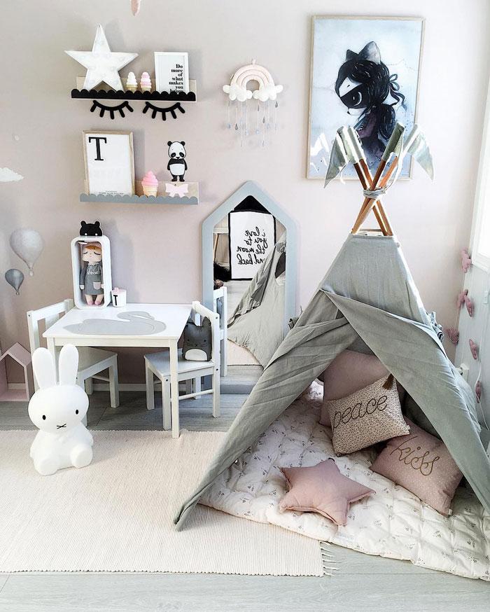 modern kids play room