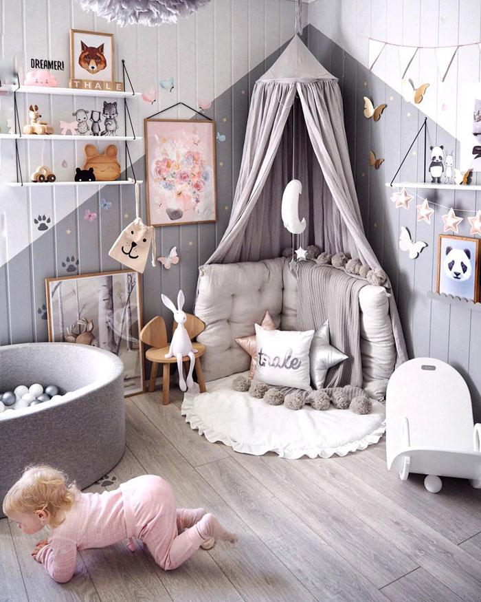 ideas reading corner kids room