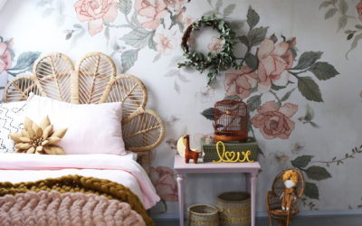 ROOMTOUR : LUNA'S ROMANTIC GIRL'S ROOM WITH NATURAL ELEMENTS