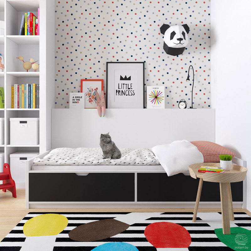 cats with kids interiors