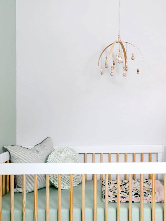 mintgreen baby nursery room