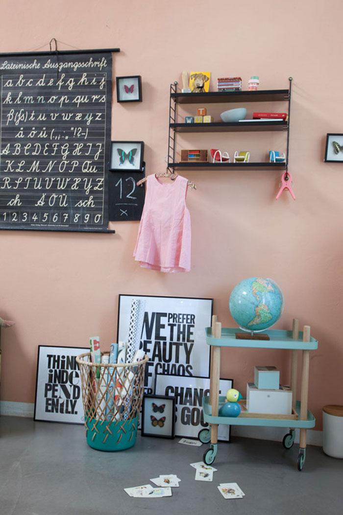 abc board kid's room