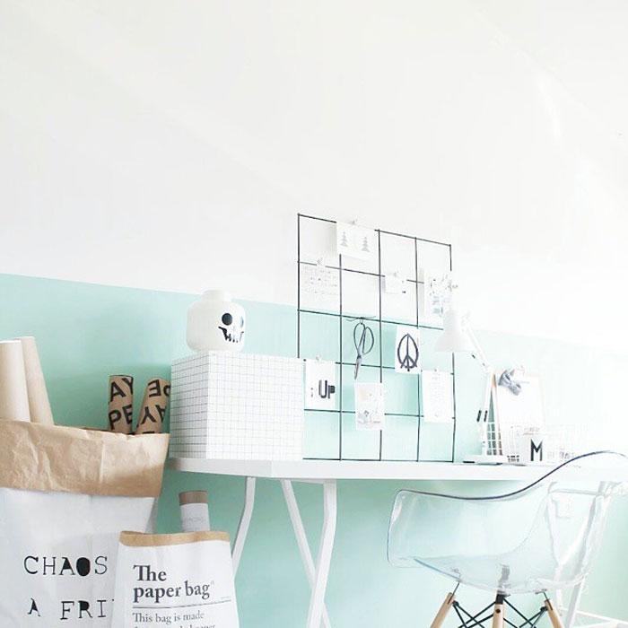 mint green blue hues room ideas
