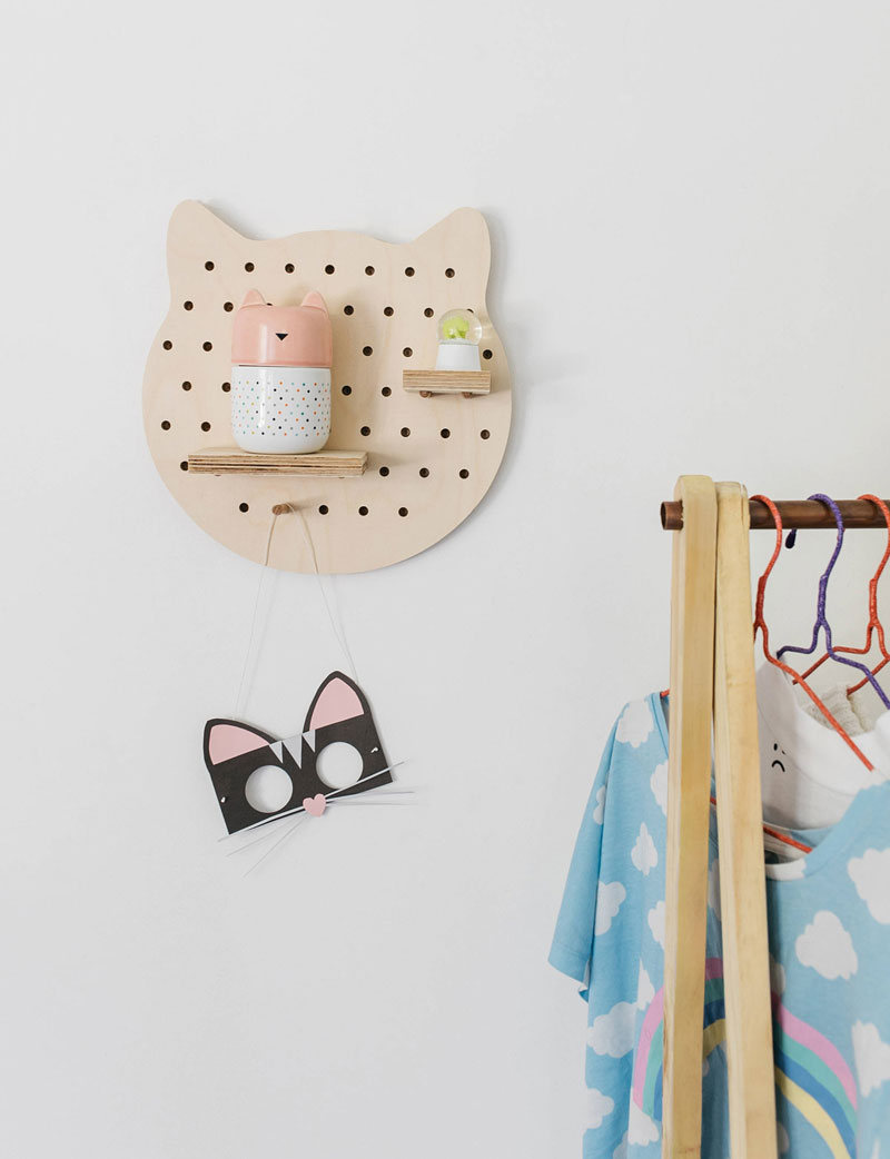 cat décor kids rooms