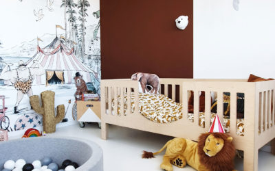 ROOMTOUR : VIC'S FUN CIRCUS THEMED BOY'S ROOM